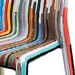 Luca Moretto, Kartell Kartell Frilly Colored Lines